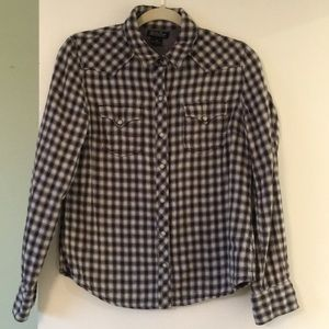 🌺Lucky Brand Cozy Flannel Type Shirt Size M🌺